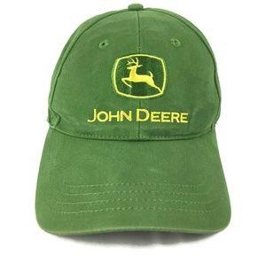 John Deere Trucker Hat Baseball Cap Strap Back